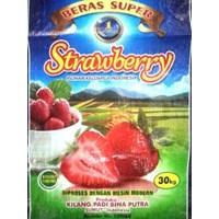 Jual Beras IR64 Pilihan Cap Super Strawberry