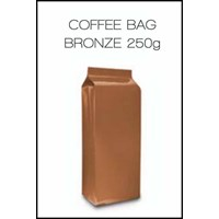 Coffee Bag Gusseted 250G ( Bronze)