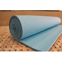 PVC YOGA MAT - Colour Light Blue