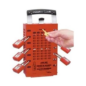 503 Red Group Lock Out Box Master Lock