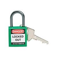 Brady 143152 Green Compact Safety Padlock 1