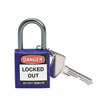 Brady 143164 Purple Compact Safety Padlock