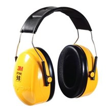 H9A Peltor Optime 98 Earmuff Headband Model 3M