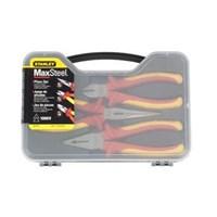Carpentry Tools 84-011 Fatmax VDE 3pcs Plier Set Stanley 1