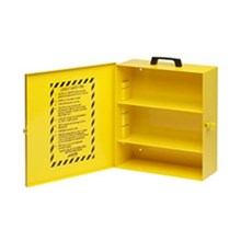 Brady LC252M Metal Lockout Cabinet Empty