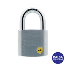 Yale Y120-50-127 Silver Series Outdoor Brass 50 mm with Multi-pack Padlock