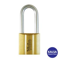 Yale Y140-25LS 140 Series Long Shackle Brass 25 mm Padlock