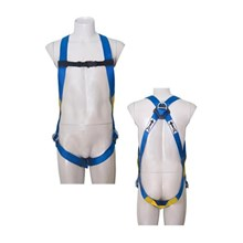 Protecta First 1390000 3-Points Adjustment Full Body Harness with Dorsal D-Ring