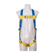 Protecta First 1390024 5-Points Adjustment Full Body Harness with Chest And Dorsal D-Ring
