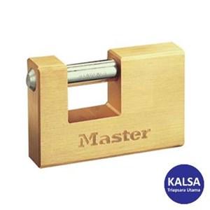 Master Lock 607EURD Solid Brass Padlocks Hardened Steel Shackle
