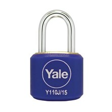 Yale Padlock Y110J-15-111-2 Blue Classic Series In