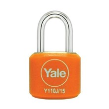 Yale Padlock Y110J-15-111-2 Orange Classic Series
