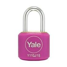 Yale Padlock Y110J-15-111-2 Pink Classic Series In