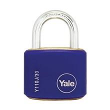Yale Padlcok Y110J-30-117-2 Blue Classic Series Ou
