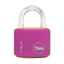 Yale Padlcok Y110J-30-117-2 Pink Classic Series Ou