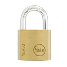 Yale Padlock YE-130 Essential Series Indoor Brass