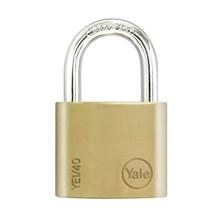 Yale Padlock YE-140 Essential Series Indoor Brass