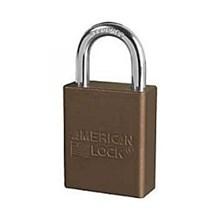 American Lock A1105BRN Safety Lockout Padlocks