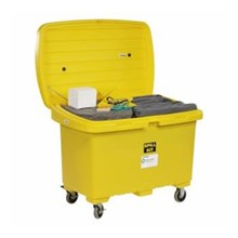"SpillTech SPKU-CART5 Universal with 5"" Wheels Spill Cart Kit"
