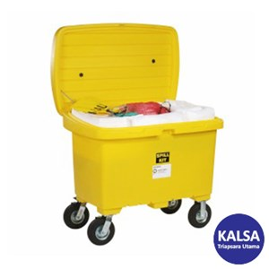 "Dari SpillTech SPKO-CART8 Oil Only with 8"" Wheels Spill Cart Kit 0"