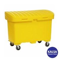 """SpillTech A-UTILITYBOX5 with 5"""" Wheels Empty Spill Cart"""
