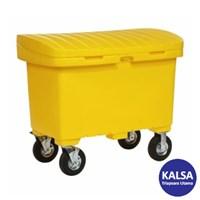 """SpillTech A-UTILITYBOX8 with 8"""" Wheels Empty Spill Cart"""