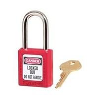 Master Lock 410RED Keyed Different Safety Padlocks 1