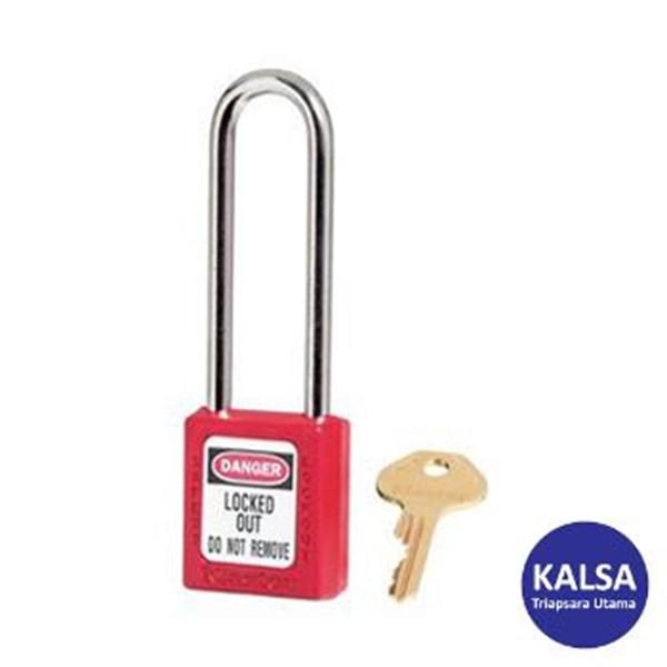 Master Lock 410LTRED Keyed Different Safety Padlocks Zenex Thermoplastic