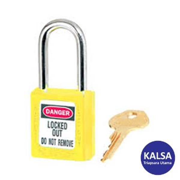 Master Lock 410YLW Keyed Different Safety Padlocks Zenex Thermoplastic