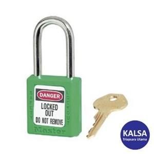 Master Lock 410GRN Keyed Different Safety Padlocks