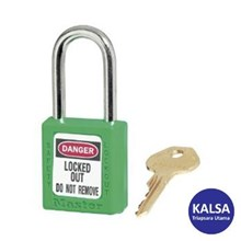 Master Lock 410MKGRN Master Keyed Safety Padlocks