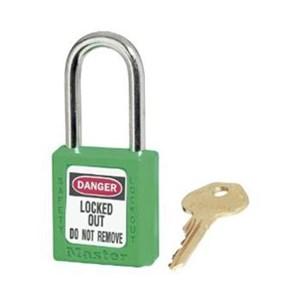 Master Lock 410MKGRN Master Keyed Safety Padlocks