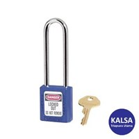 Dari Master Lock 410LTBLU Keyed Different Safety Padlocks Zenex Thermoplastic 0