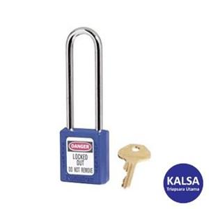 Master Lock 410LTBLU Keyed Different Safety Padlocks