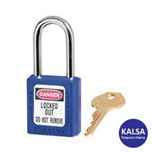 Master Lock 410MKBLU Master Keyed Safety Padlocks