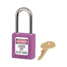 Master Lock 410PRP Keyed Different Safety Padlocks