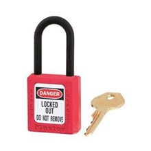 Master Lock 406KARED Keyed Alike Safety Padlocks