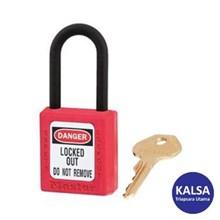 Master Lock 406KARED Keyed Alike Safety Padlocks Z