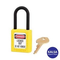 Master Lock 406YLW Keyed Different Safety Padlocks Zenex Thermoplastic
