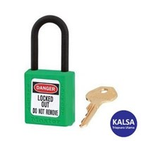 Master Lock 406KAGRN Keyed Alike Safety Padlocks Zenex Thermoplastic