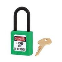 Master Lock 406MKGRN Master Keyed Safety Padlocks 1