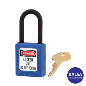 Master Lock 406BLU Keyed Different Safety Padlocks
