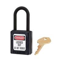 Master Lock 406BLK Keyed Different Safety Padlocks 1