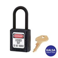 Master Lock 406MKBLK Master Keyed Safety Padlocks 1