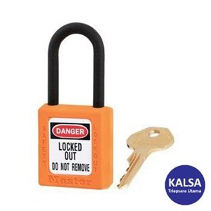 Master Lock 406KAORJ Keyed Alike Safety Padlocks