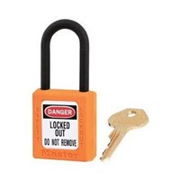 Master Lock 406MKORJ Master Keyed Safety Padlocks