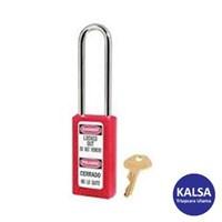 Master Lock 411LTRED Keyed Different Safety Padlocks Zenex Thermoplastic 1