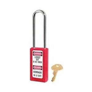 Master Lock 411LTRED Keyed Different Safety Padlocks