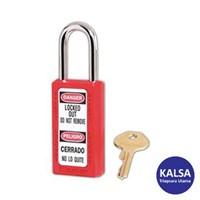 Master Lock 411KARED Keyed Alike Safety Padlocks 1