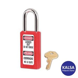 Master Lock 411MKRED Master Keyed Safety Padlocks Zenex Thermoplastic